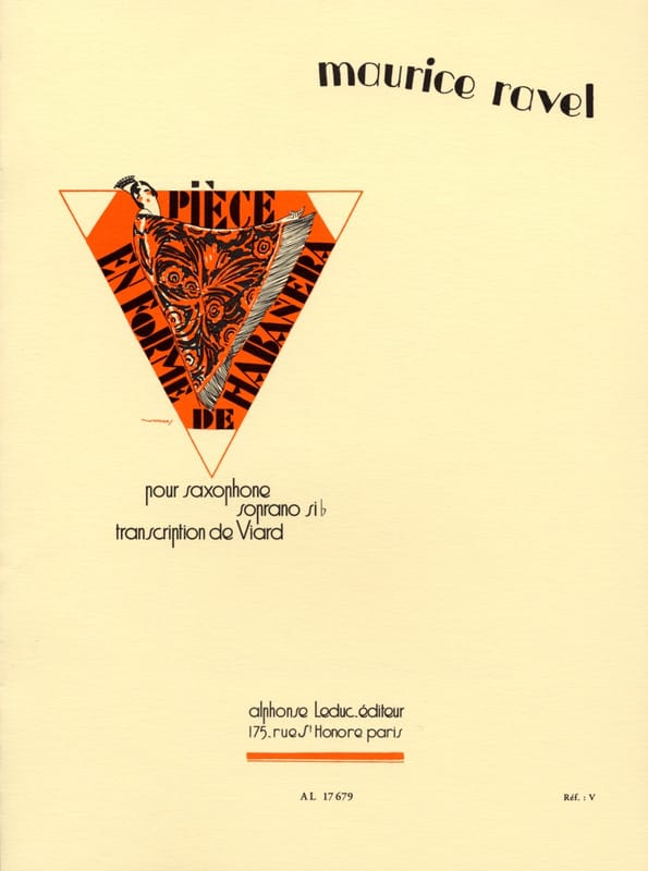 Maurice Ravel - Habanera shaped room - Partition - di-arezzo.com