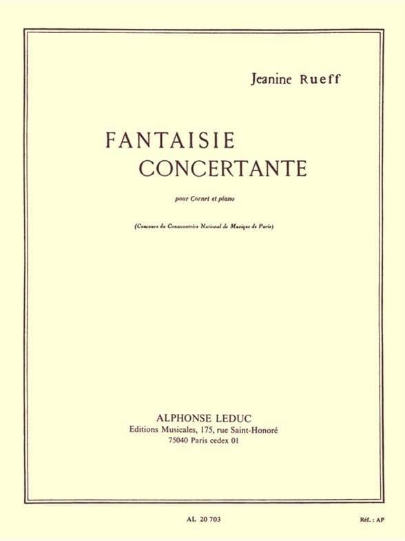 Jeanine Rueff - Concertante Fantasy - Partition - di-arezzo.es