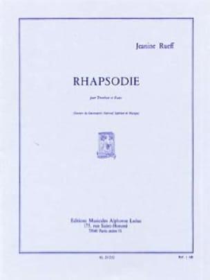 Rhapsodie - Jeanine Rueff - Partition - Trombone - laflutedepan.com