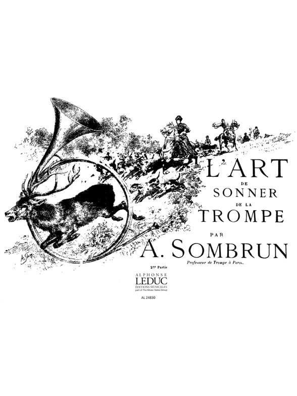 L'art de sonner de la trompe volume 2 - Sombrun - laflutedepan.com