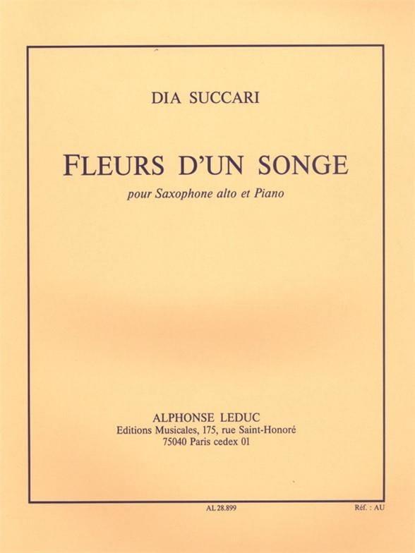Fleurs D' Un Songe - Dia Succari - Partition - laflutedepan.com