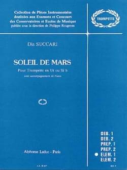 Soleil de Mars - Dia Succari - Partition - laflutedepan.com