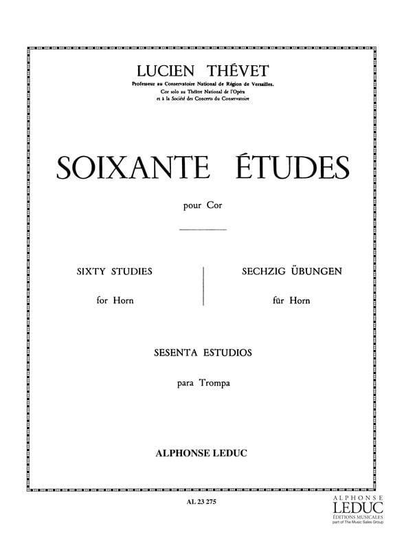 Lucien Thévet - 60 Studies - Partition - di-arezzo.com
