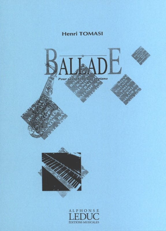 Henri Tomasi - Ballad - Partition - di-arezzo.co.uk