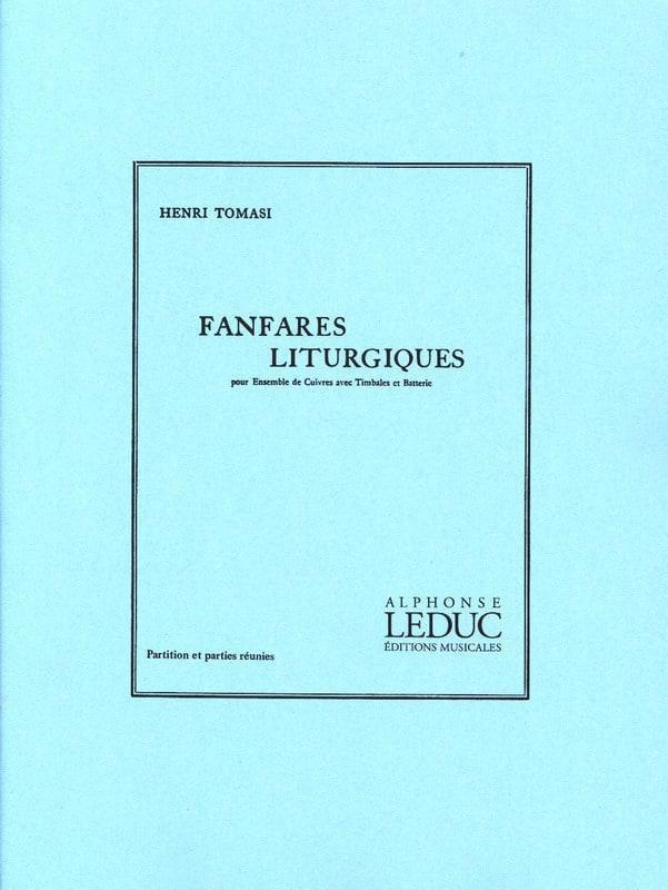 Fanfares Liturgiques - Henri Tomasi - Partition - laflutedepan.com