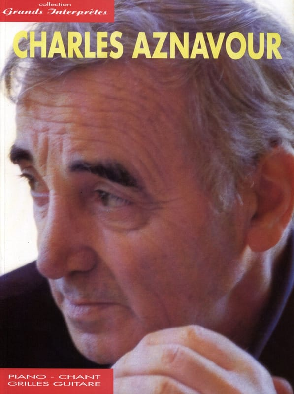 Charles Aznavour - Great Performers Collection - Partition - di-arezzo.co.uk