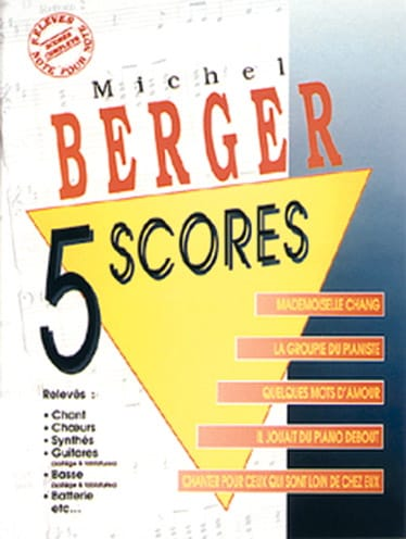 Michel Berger - 5 Scores - Partition - di-arezzo.co.uk