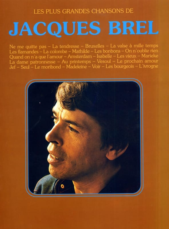 Jacques Brel - The greatest songs - 26 Success - Partition - di-arezzo.com