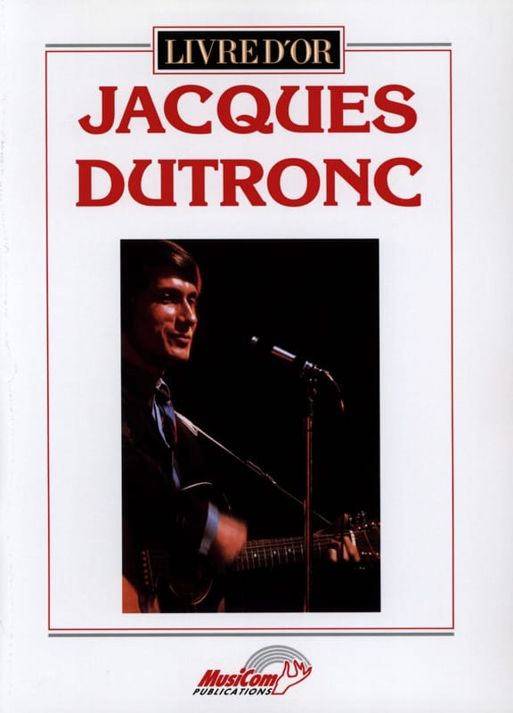 Jacques Dutronc - Guestbook - 19 successes - Partition - di-arezzo.co.uk