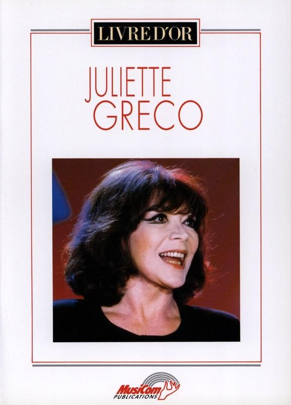 Livre d'or - 17 Succès - Juliette Greco - Partition - laflutedepan.com