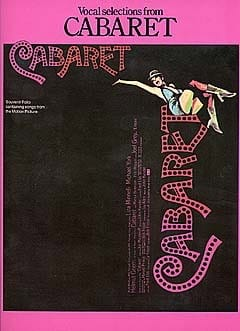 John Kander - Cabaret - Partition - di-arezzo.co.uk