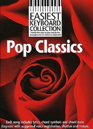 - Easiest Keyboard Collection - Pop Classics - Partition - di-arezzo.co.uk