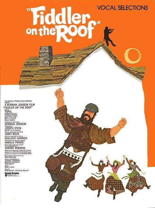 Jerry Bock - A violin on the roof - Partition - di-arezzo.com