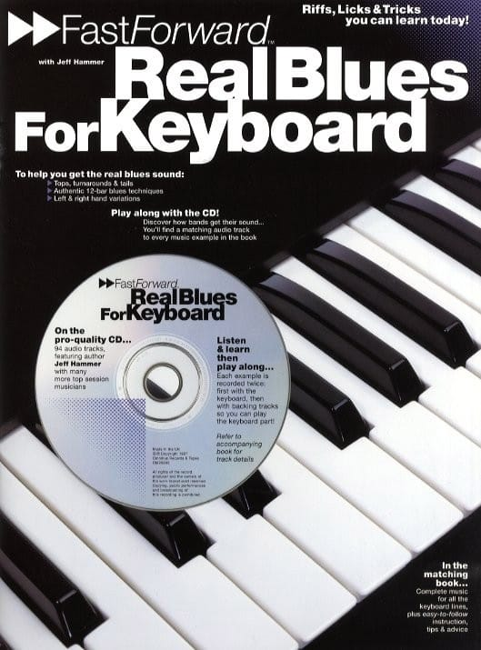 Fast Forward - Real blues for keyboard - laflutedepan.com