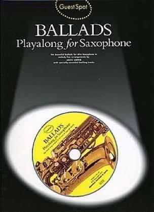 Guest Spot - Ballads Playalong For Saxophone - laflutedepan.com