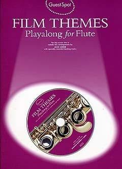 Guest Spot - Film Themes Play Along For Flute - laflutedepan.com