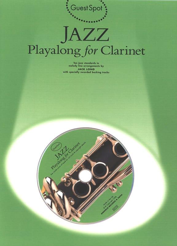 Guest Spot - Jazz Playalong For Clarinettte - laflutedepan.com