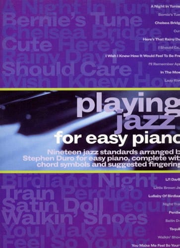 Playing Jazz For Easy Piano Solo - Stephen Duro - laflutedepan.com