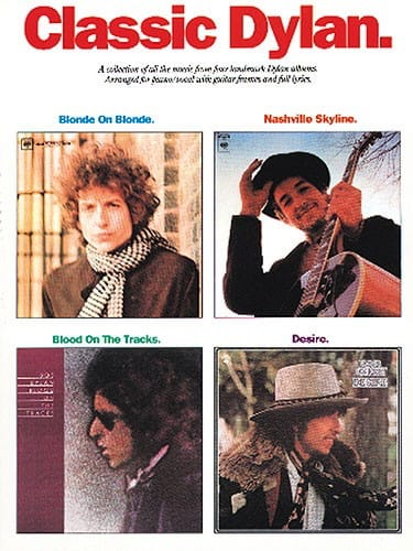 Bob Dylan - Classic Dylan - 4 Albums - Partition - di-arezzo.co.uk
