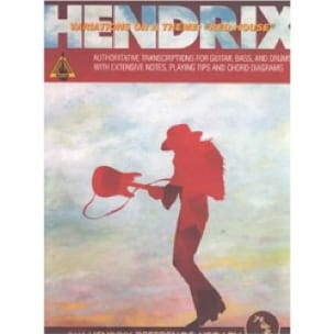 Jimi Hendrix - Variations on a theme: Red house - Partition - di-arezzo.fr