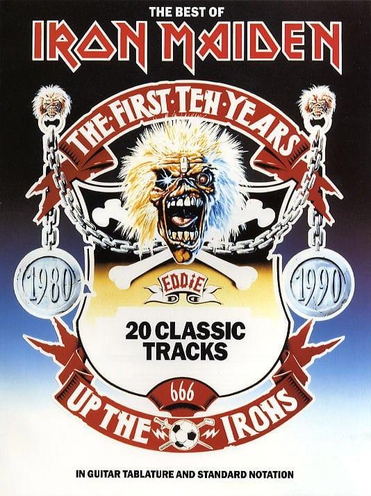 The Best Of - Iron Maiden - Partition - Pop / Rock - laflutedepan.com