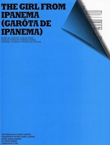 Girl The From Ipanema - Antonio Carlos Jobim - laflutedepan.com