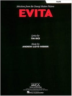 Evita - Andrew Lloyd Webber - Partition - laflutedepan.com