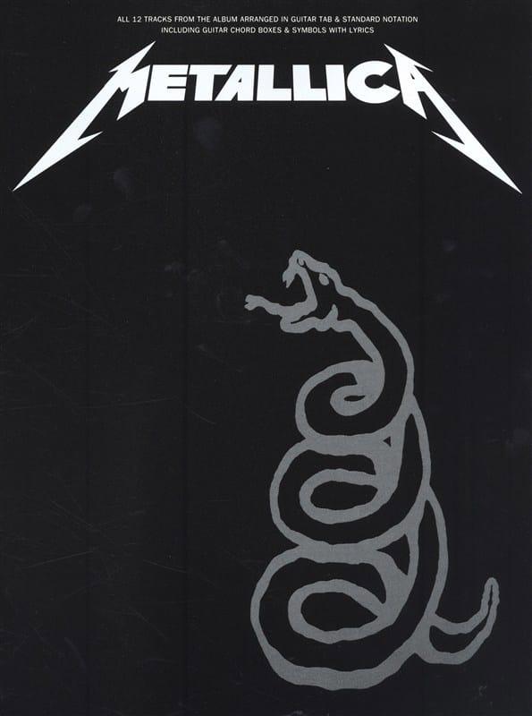 Metallica - Black Album - Partition - di-arezzo.co.uk