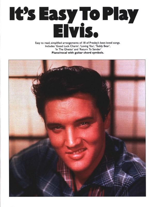 It's easy to play Elvis - Elvis Presley - Partition - laflutedepan.com