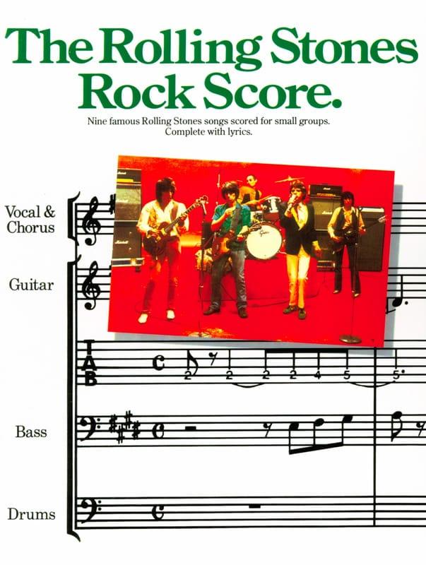ROLLING STONES - Rock score - Partition - di-arezzo.co.uk