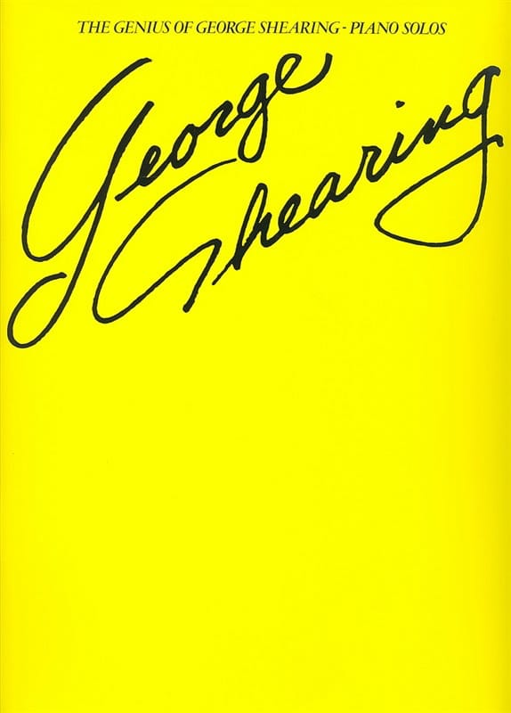 The Genius Of George Shering Piano Solos - laflutedepan.com