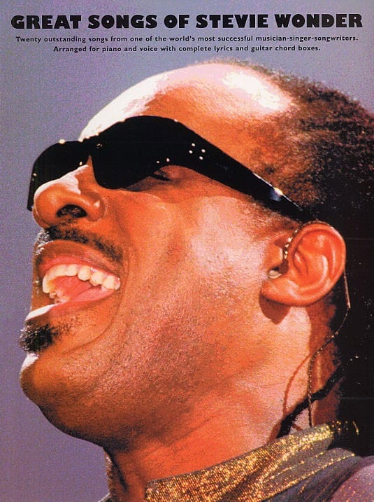 Stevie Wonder - The Great Songs Of Stevie Wonder - Partition - di-arezzo.com