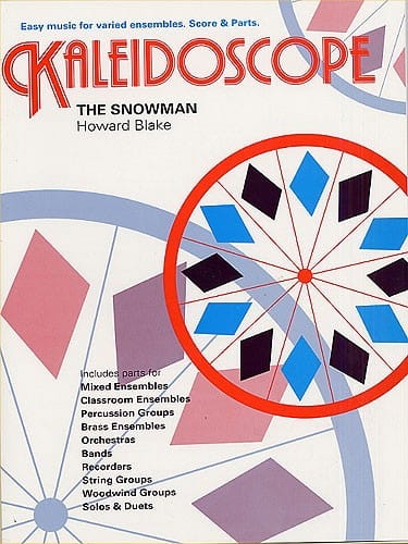 The Snowman - Kaleidoscope N° 9 - Howard Blake - laflutedepan.com
