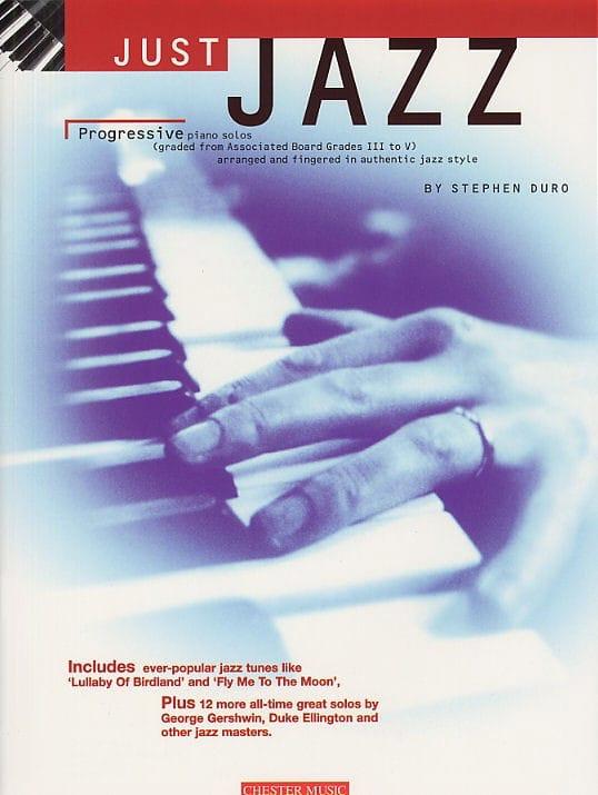 Just Jazz - Stephen Duro - Partition - Jazz - laflutedepan.com