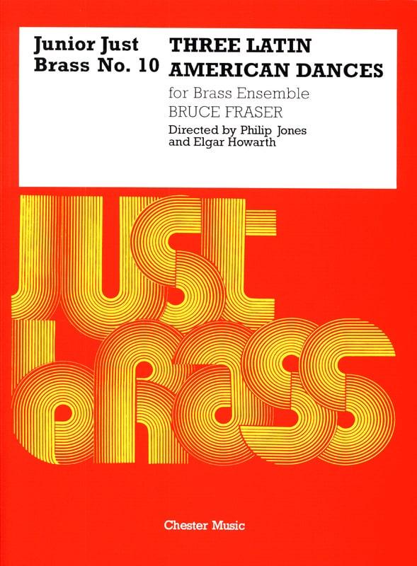 3 Latin American Dances - Junior Just Brass N° 10 - laflutedepan.com