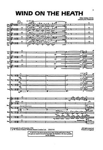 Wind On The Heath - Mike Gibbs - Partition - laflutedepan.com