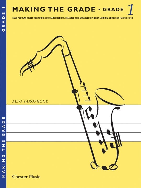 Making The Grade 1 - Partition - Saxophone - laflutedepan.com
