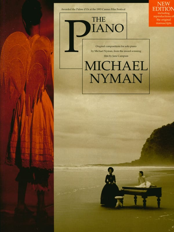 Michael Nyman - The Piano Lesson - Film Music - Partition - di-arezzo.com