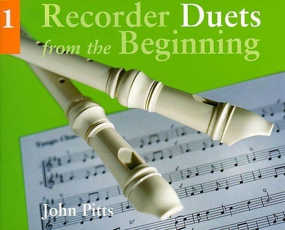 Recorder Duets From The Beginning Volume 1 - laflutedepan.com