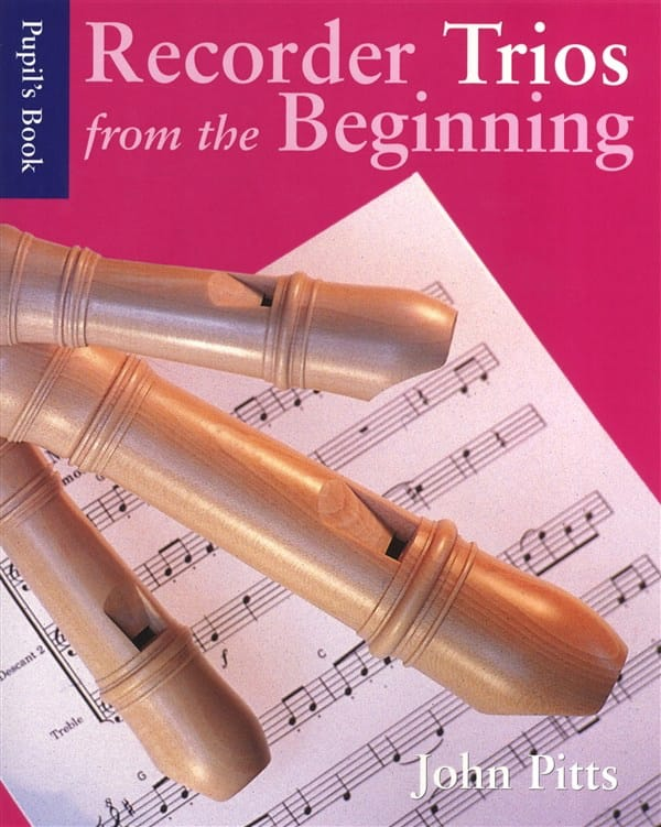 Recorder Trios From The Beginning - Partition - laflutedepan.com