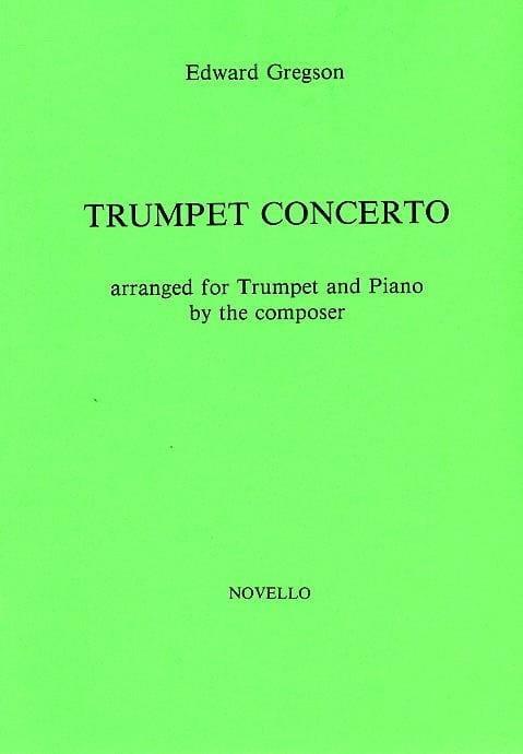 Edward Gregson - Trumpet Concerto. Trumpet - Partition - di-arezzo.com