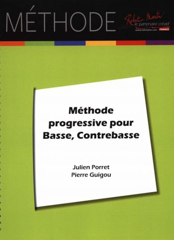 Julien Porret - Progressive Method - Partition - di-arezzo.com