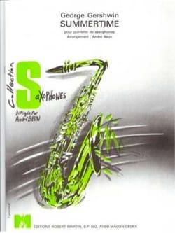Summertime - GERSHWIN - Partition - Saxophone - laflutedepan.com