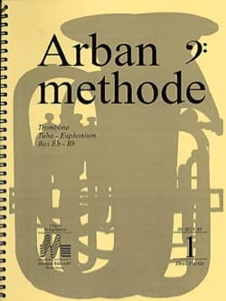 Jean-Baptiste Arban - Method Volume 1 - Key of Fa - Partition - di-arezzo.co.uk
