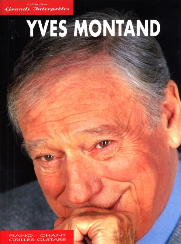 Yves Montand - Great Performers Collection - Partition - di-arezzo.co.uk
