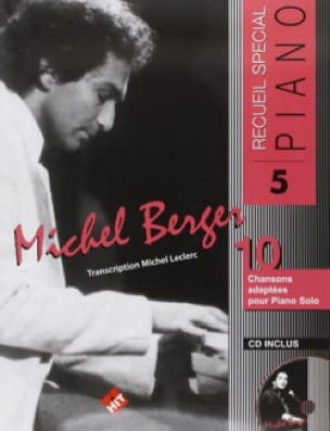 Michel Berger - 特別ピアノ集No.5 - Partition - di-arezzo.jp