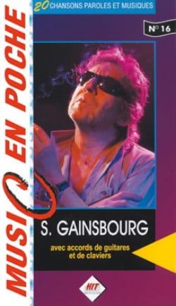 Music en poche N° 16 - Serge Gainsbourg - Partition - laflutedepan.com
