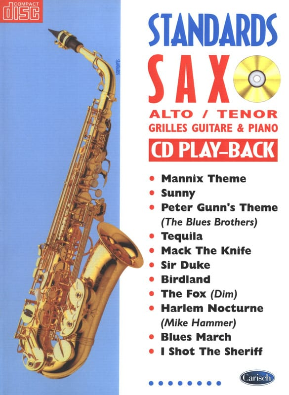 Standards Saxo - Partition - Saxophone - laflutedepan.com
