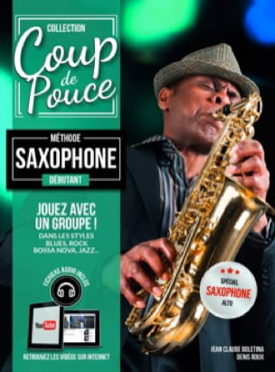 COUP DE POUCE - Beginner Saxophone Method - Partition - di-arezzo.co.uk