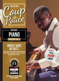 COUP DE POUCE - Méthode Piano Débutant Volume 2 - Partition - di-arezzo.ch